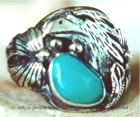 Custom Made Custom Indian Totem Eagle Ring
