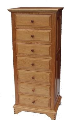 Custom Made Seven-Drawer Dresser