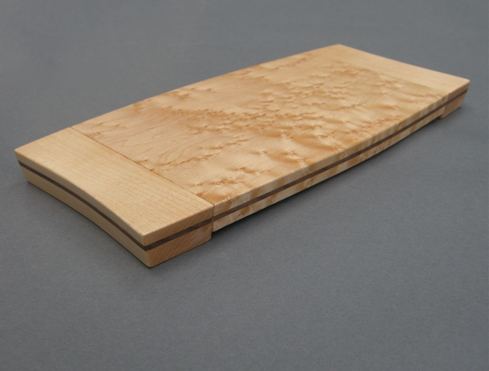 Custom birdseye maple cutting board by corwin butterworth