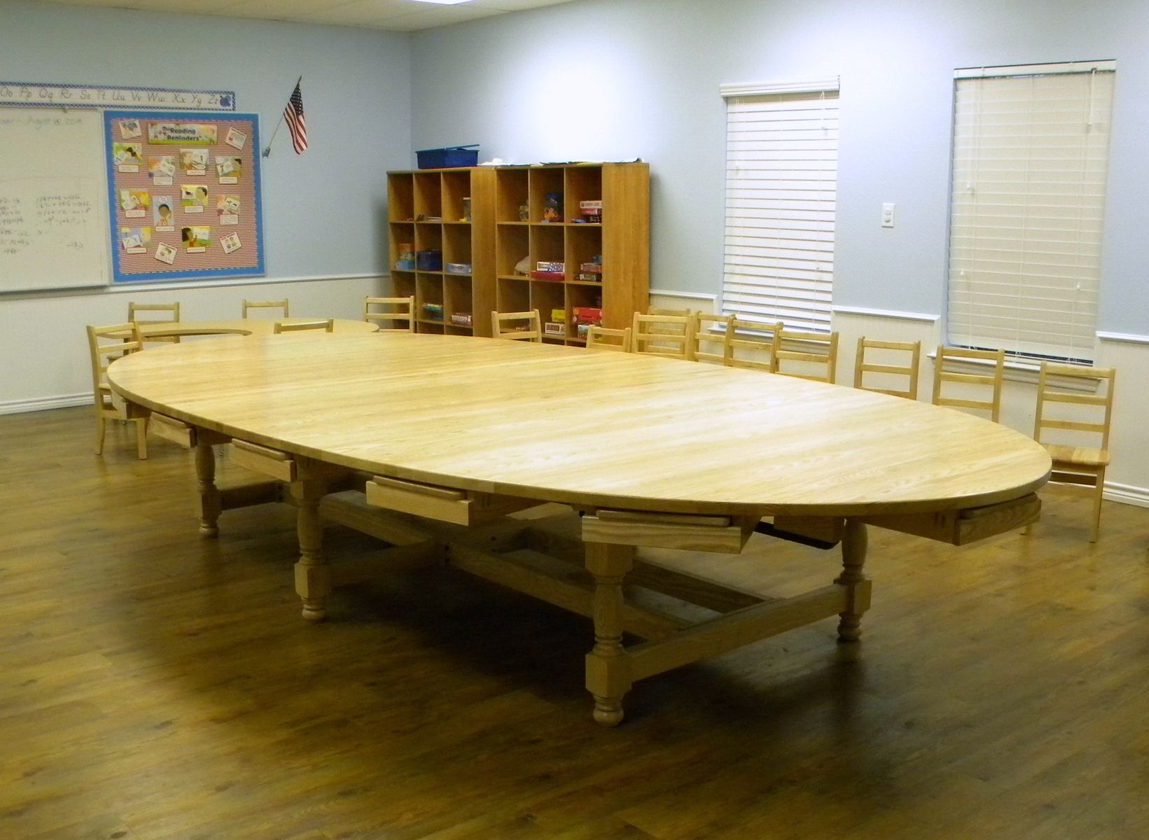 Collaborative Classroom Store ~ Custom collaborative learning oval school tables by north