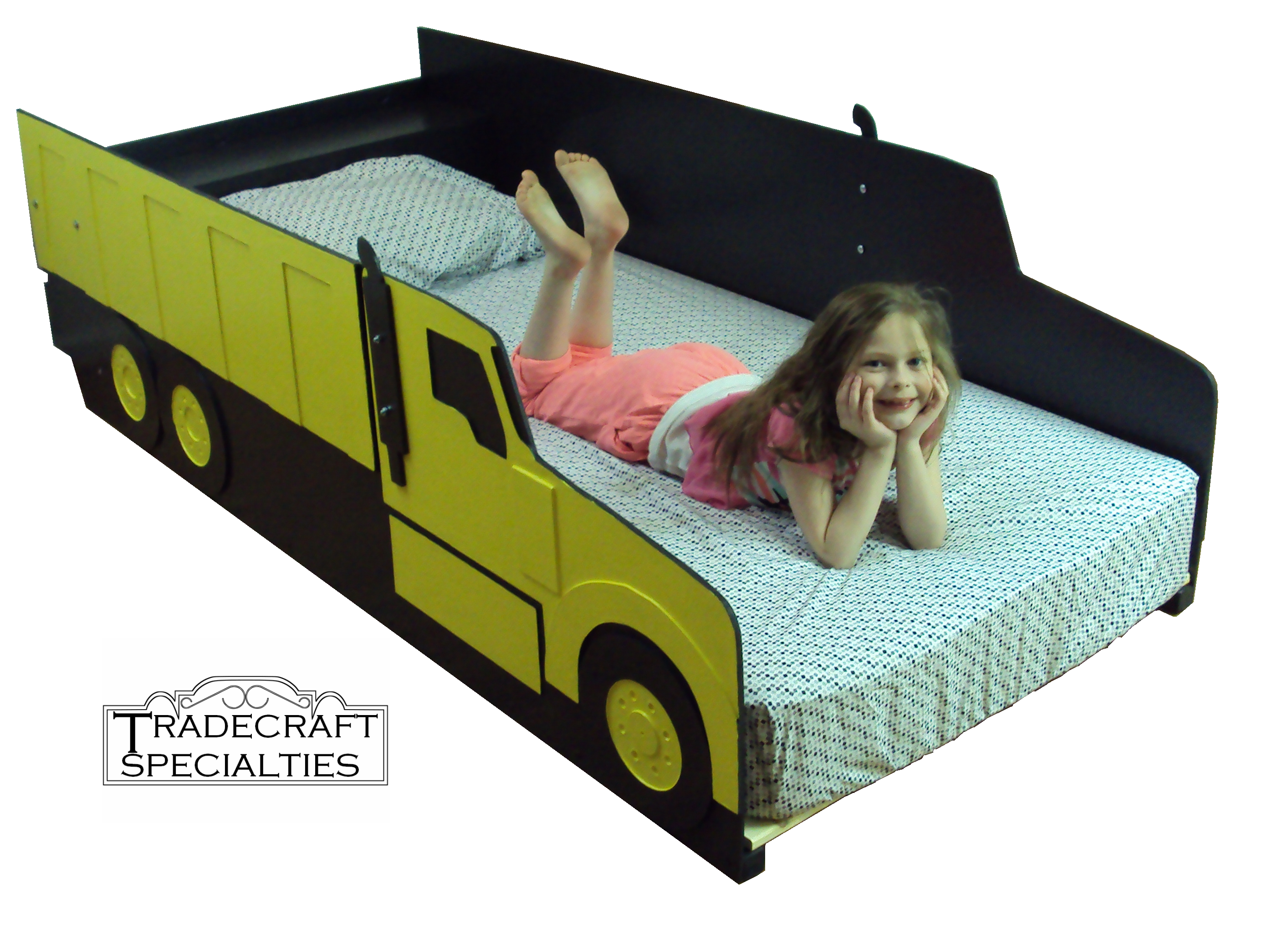 buy a hand crafted dump truck twin kids bed frame handcrafted