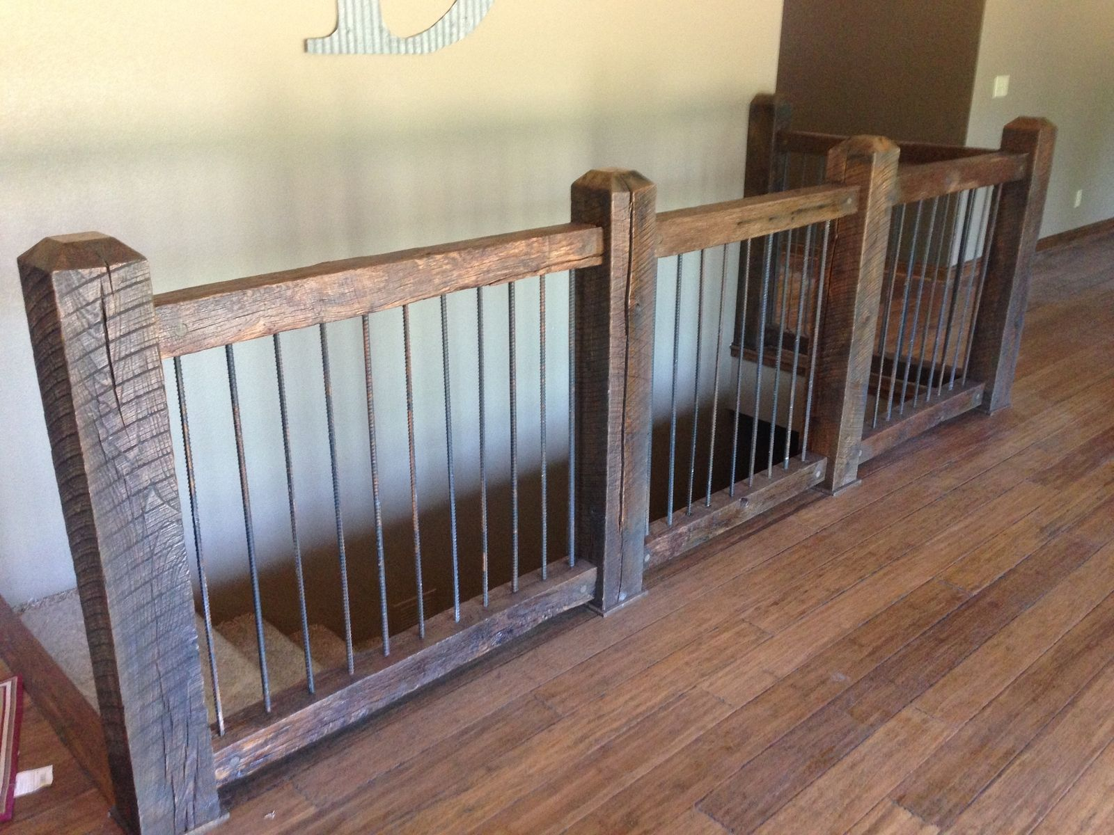 Reclaimed Stair Railings