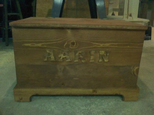 Custom Made Vintage Toy Box