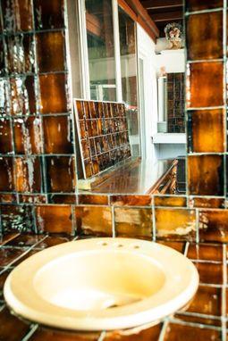 Hand Crafted Bathroom Vanity Top Amp Backsplash With Mirror