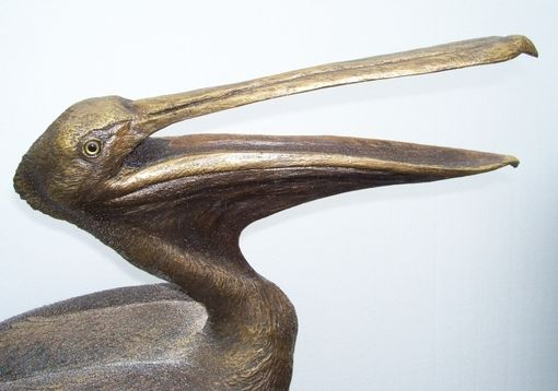 Custom Made Life Size Pelican Sculptures