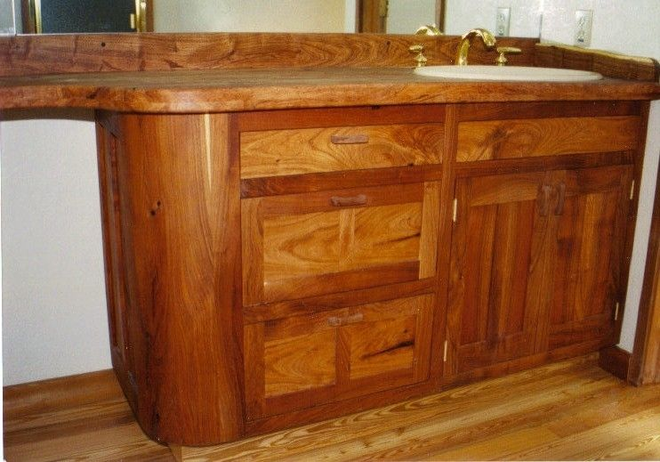 Mesquite Cabinets Bar Cabinet
