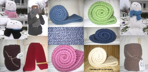 Custom Made Cozy Scarves (Multiple Colors Available)