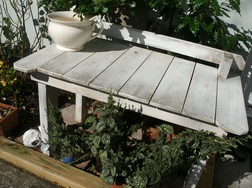 Custom Made Recycled Wood Garden Bench