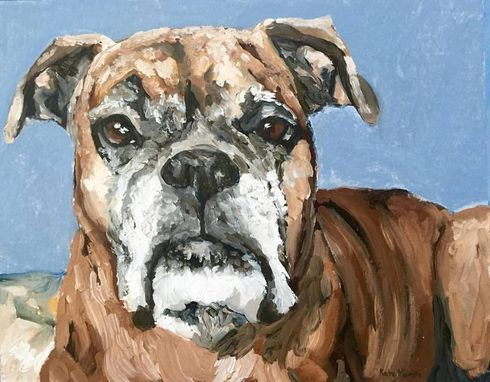 Custom Made Comissioned Oil Painting Pet Portrait