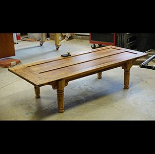 Custom Made Door Coffee Table