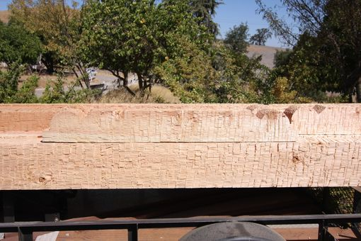 Custom Made Portico Addition Timbers / San Luis Obispo De Toloso Mission