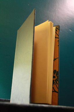 Custom Made Blue And Gold Journal