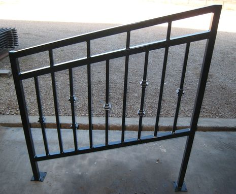 Custom Made Balcony And Handrails