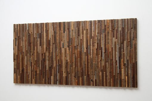 Custom Made Reclaimed Wood Wall Art 48