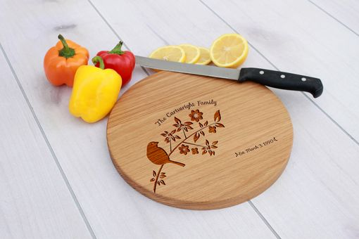 Custom Made Personalized Cutting Board, Engraved Cutting Board, Custom Wedding Gift – Cbr-Wo-Cartwrightfamily