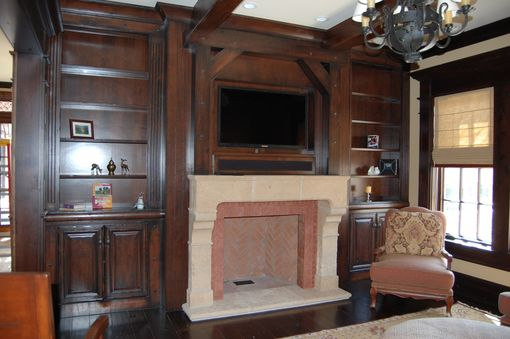 Custom Made Hearth Room Entertainment Center