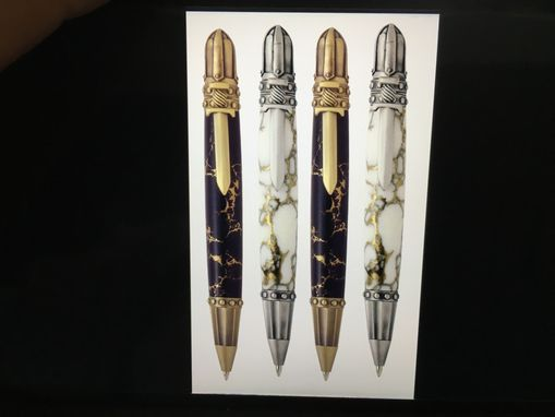 Custom Made Hand Crafted Knight Themed Pen