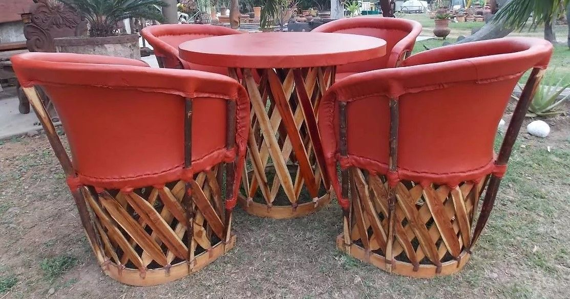 Custom Made Equipal Mexican Chairs Handmade Leather Chairs By