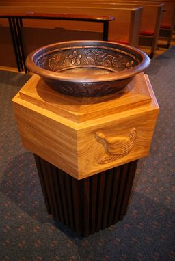 Custom Made Baptismal Font