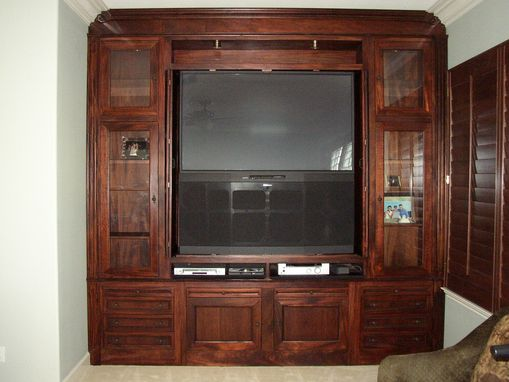 Custom Made Zieler Entertainment Center