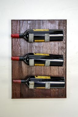 Custom Made Wine Rack Collection - Tapachi - Wall Mounted Wine Rack