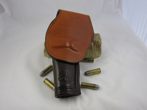 Custom Made Brown Leather Colt Holster