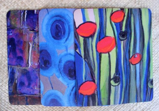 Custom Made Mouse Pads Any 3 With Original Artwork Mix And Match By Devikasart