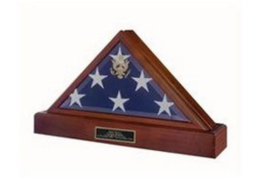 Custom Made Memorial Flag Display Case