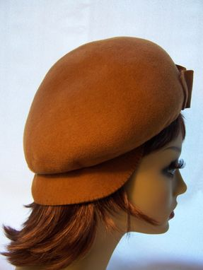 Custom Made Felt Two In One Cap And Beret