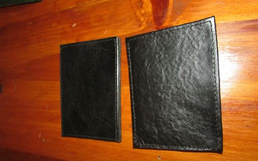 Custom Made Leather Prescription Pad Holder/Wallet