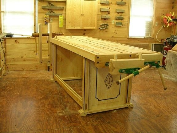 Handmade Custom Woodworking Bench By Larue Woodworking
