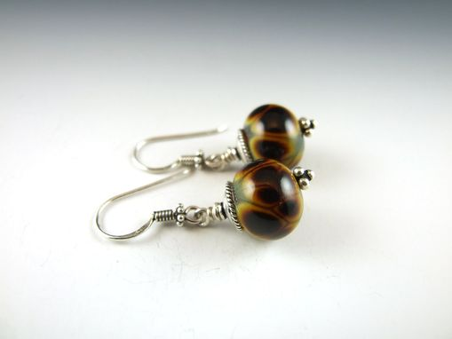 Custom Made Earrings - Deep Amber Collection