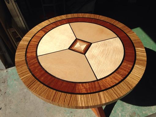 Custom Made Stunning Round Dining Table