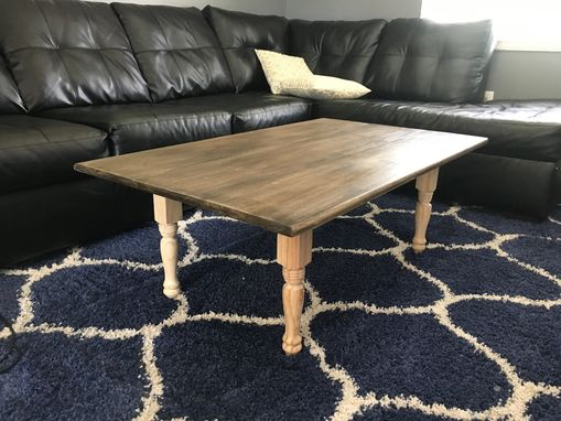 Custom Made Handmade Rustic End Table
