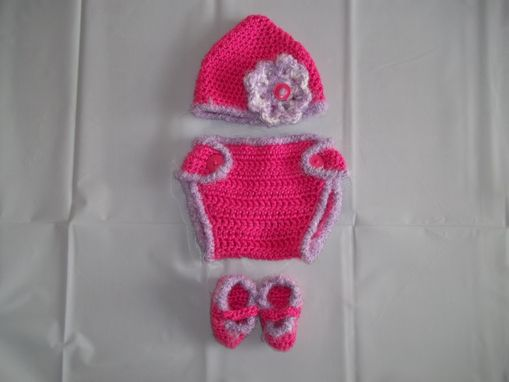 Custom Made Diaper Cover Set