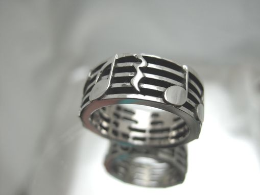 Custom Made Music Note Ring