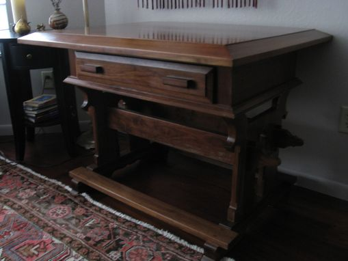Custom Made Reproduction Of Martin Luther Era Desk