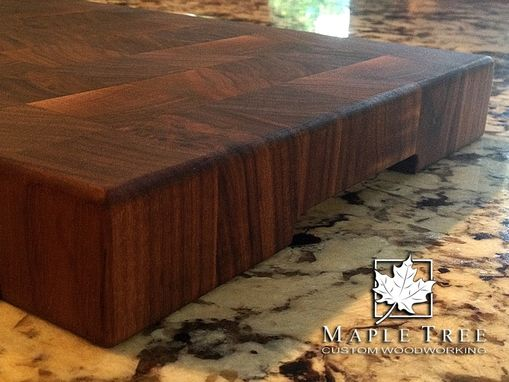 Custom Made Walnut Butcher Block