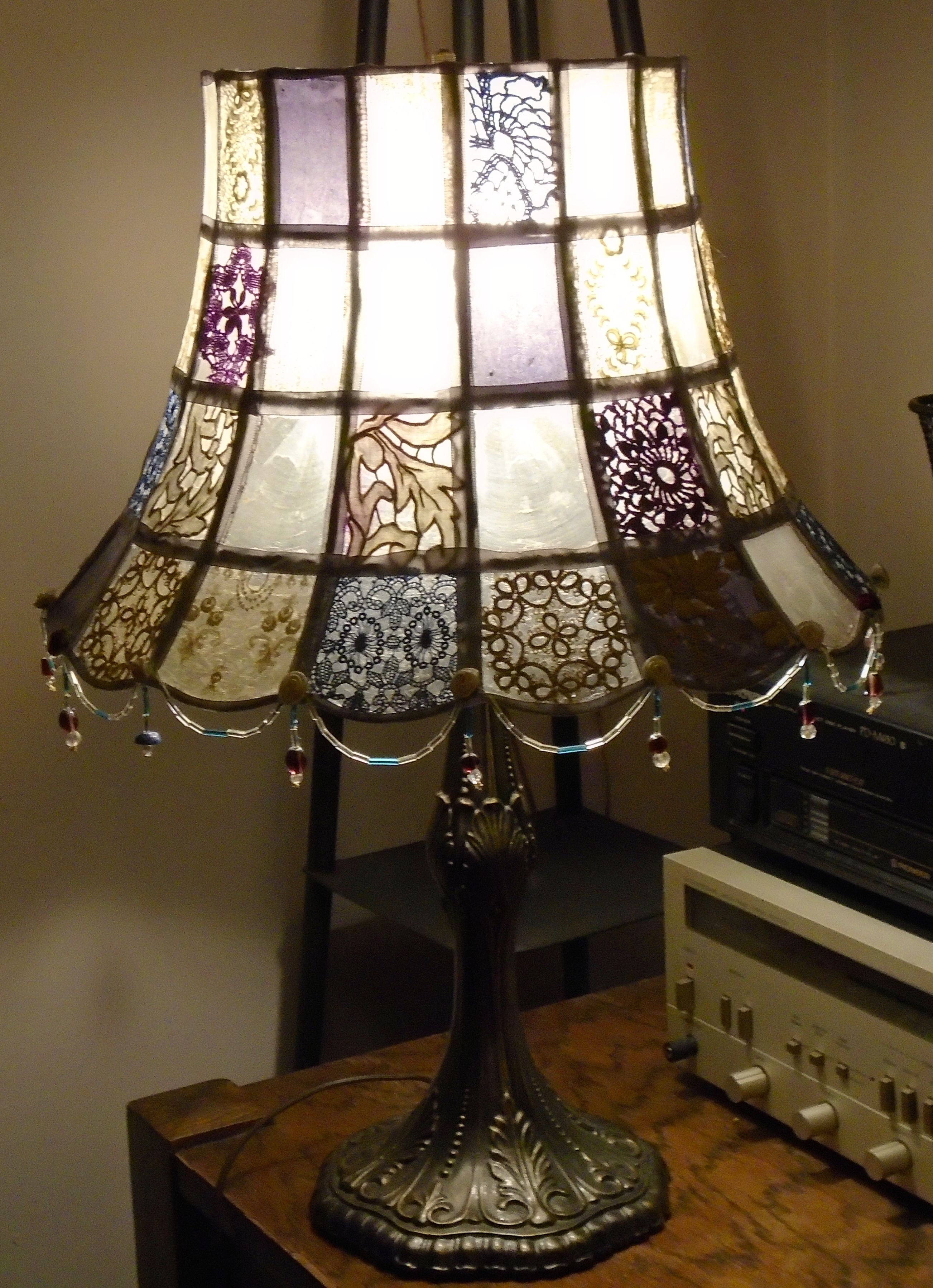 Custom Made One Of A Kind Lamps