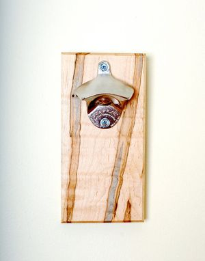 "Custom Made Ambrosia Maple ""Rustica"" Magnetic Bottle Opener"