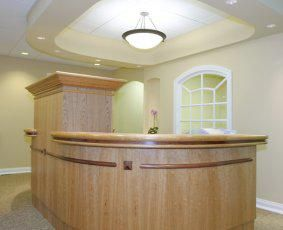 Custom Made Commercial Reception Center