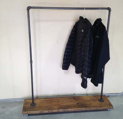 Custom Made Industrial Urban Garment Rack