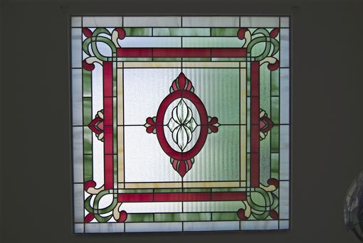 Custom Made Traditional Design Window