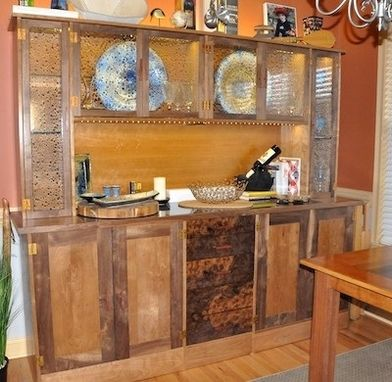 Custom Made Hutch And Buffet