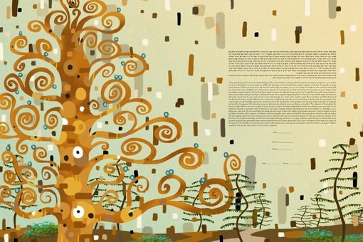Custom Made The Austrian Forest Ketubah