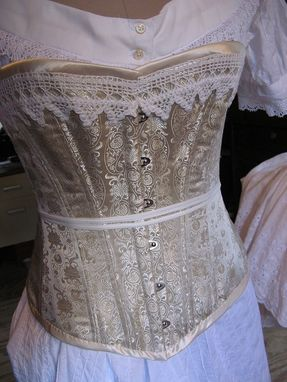 Custom Made Victorian Trousseau, Underwear Set For An Elliptical Dress