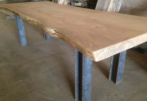 Custom Made Live Slab Conference Table
