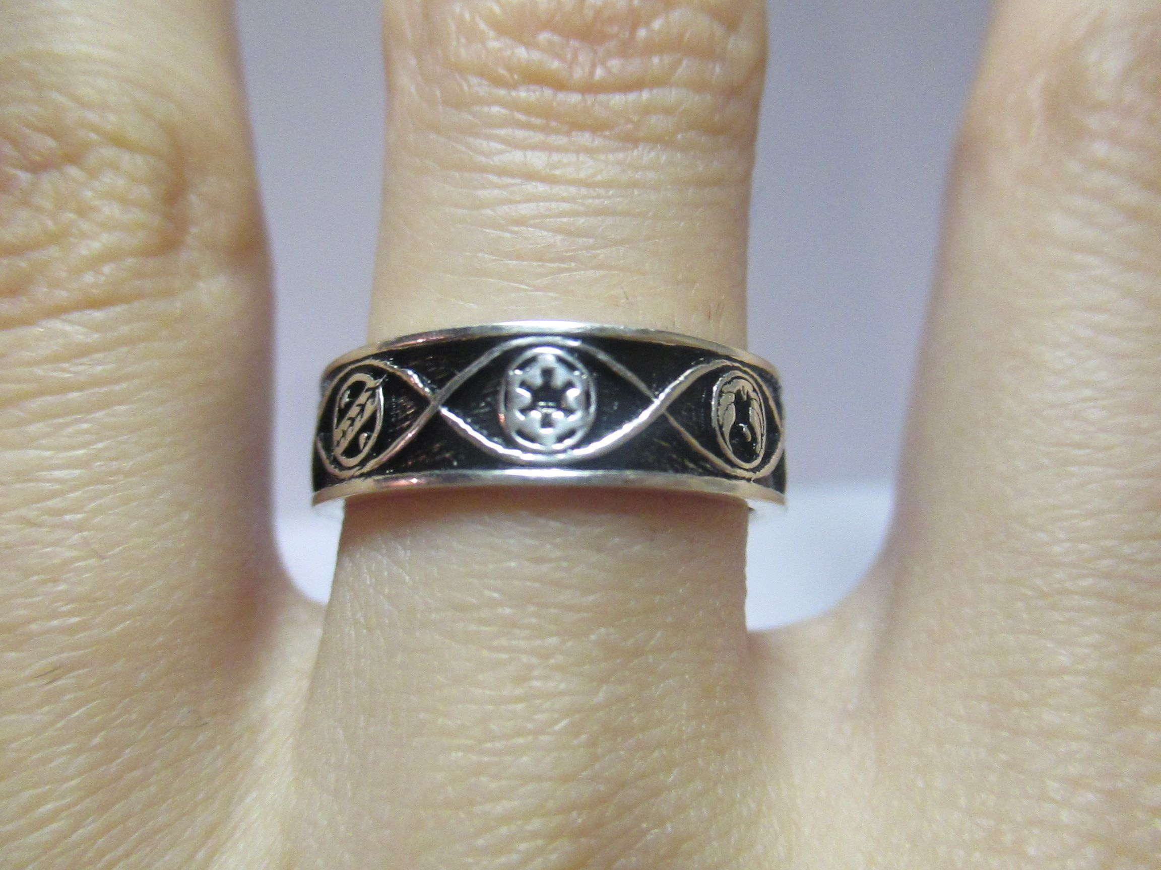 Buy A Hand Crafted Star Wars Infinity Wedding Band Made To Order