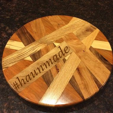 Custom Made Choatic Lazy Susan