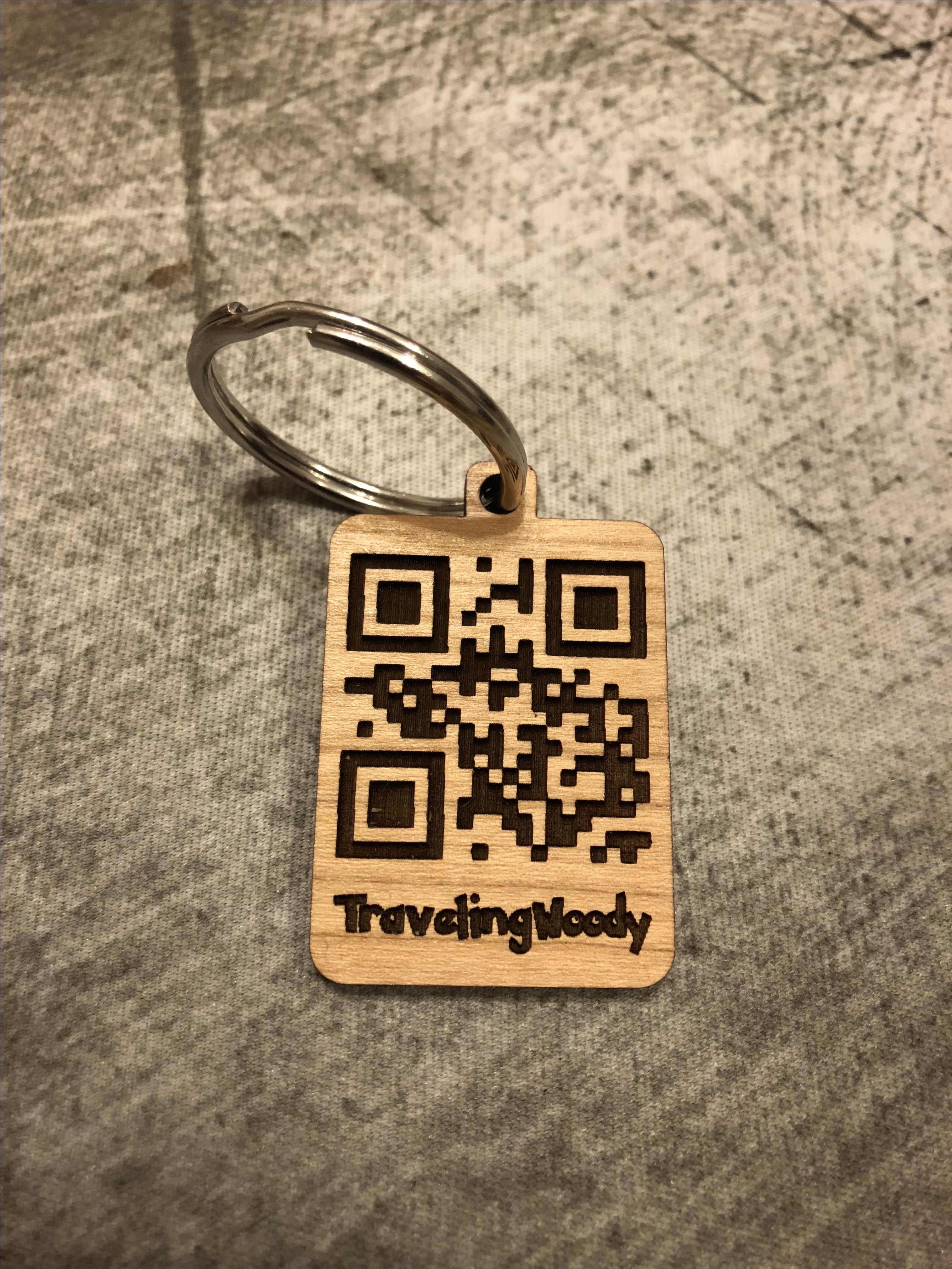 Buy A Handmade Pok 233 Mon Go Trainer Qr Code Keychain Made